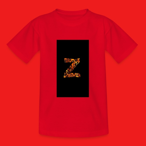 Das Z in tiger format - Teenager T-Shirt