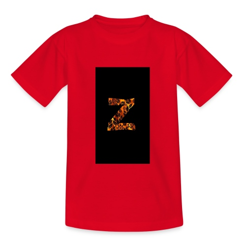 Das Z in tiger format - Teenager T-Shirt
