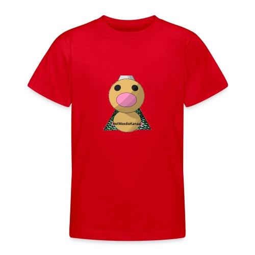 HetWeedleKanaal shirt KINDER EN TIENER MATEN - Teenager T-shirt