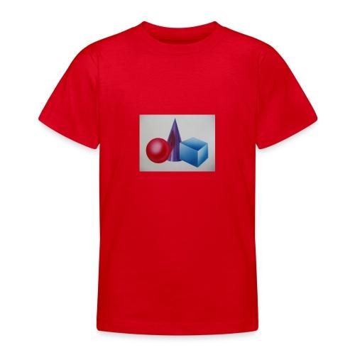 P1270003 Bausteine - Teenager T-Shirt