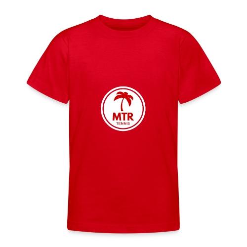 MTR Tennis White - Teenage T-Shirt