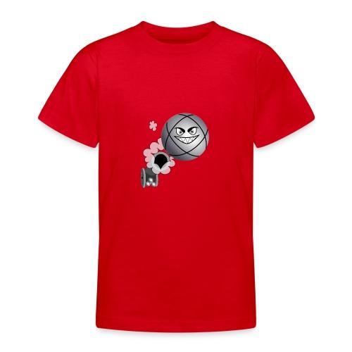 petanque tireur le carreau à la pétanque - T-shirt Ado