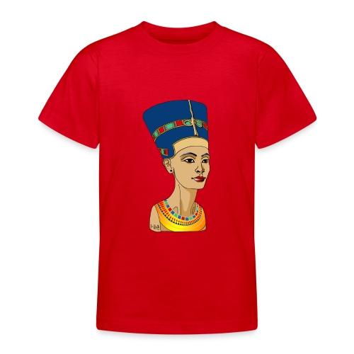 Nofretete - Die Schöne, die da kommt - Teenager T-Shirt