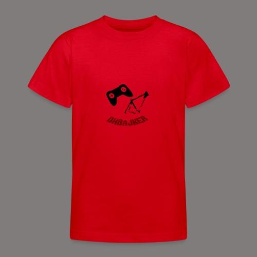 dhbajker now logo - Teenager T-Shirt