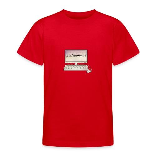pastelsimmer Computer Merch - Koszulka młodzieżowa