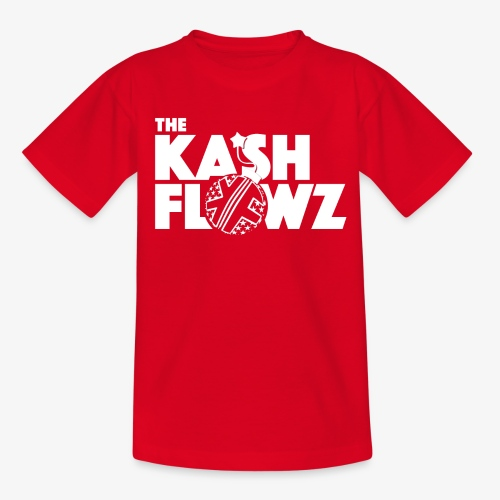 The Kash Flowz Official Bomb White - T-shirt Ado