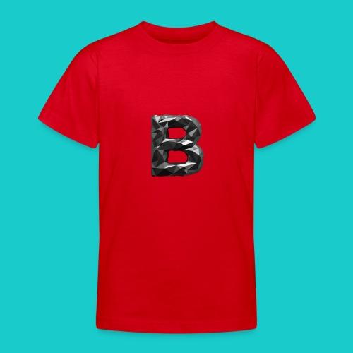 paper-melt-font-letter-B-1- - Teenage T-shirt