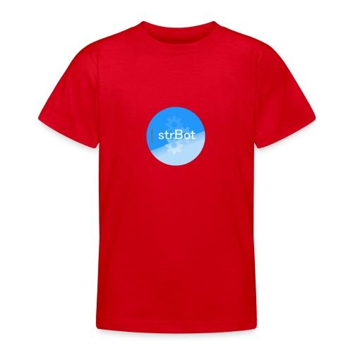 strBot Circle - Teenage T-Shirt