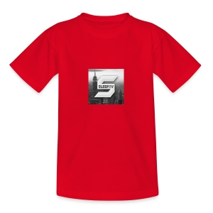 SleepTV Logo - Teenage T-shirt