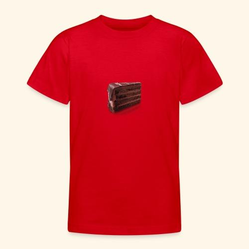 chocolate cake - Teenage T-Shirt