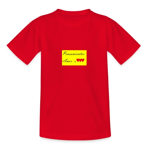 Pensamientos-png - Camiseta adolescente