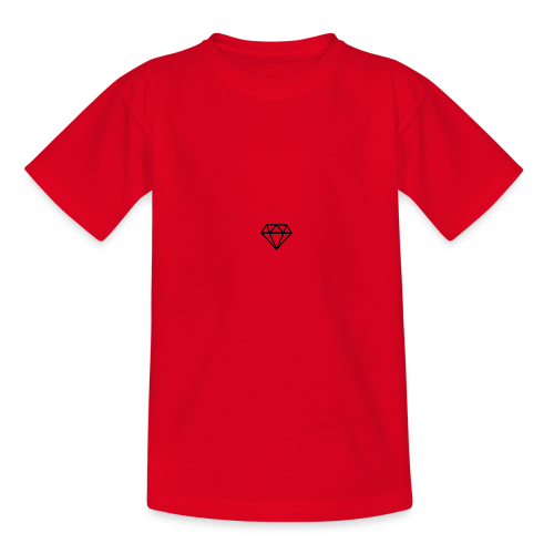 black diamond logo - Teenage T-Shirt