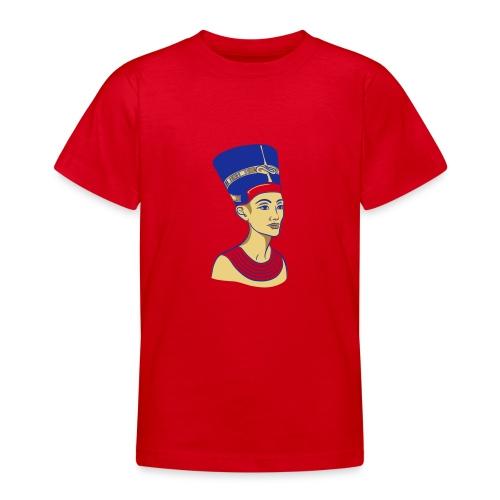 Nefertiti - Nofretete - Die Schöne - Teenager T-Shirt