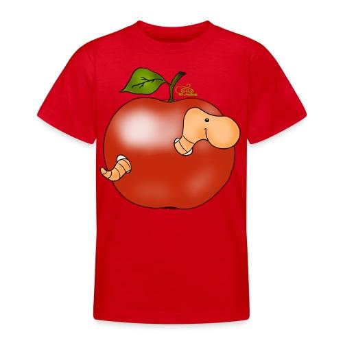 Apfelwurm im Royal Tenroy - Teenager T-Shirt