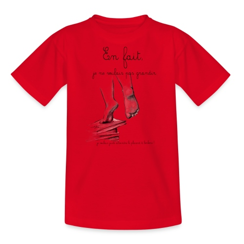 En fait !!!!! - T-shirt Ado