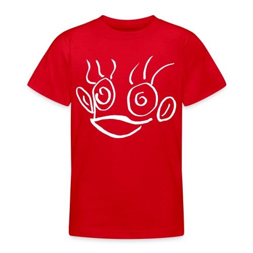 hannah monkey white - Teenage T-Shirt