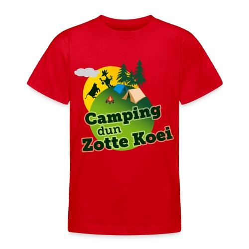2015 logo camping carnaval png - Teenager T-shirt