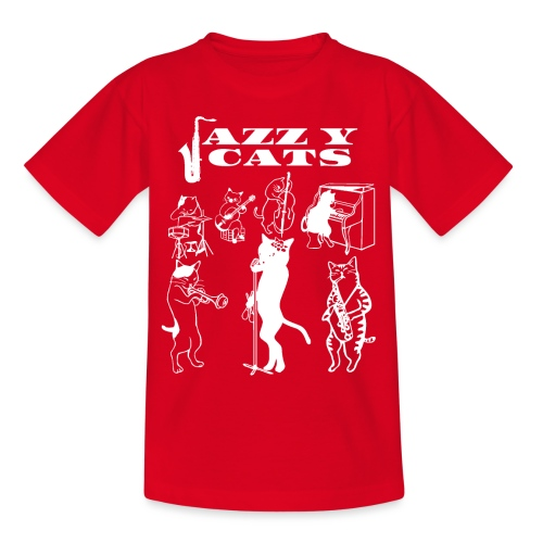 Jazzy Cats - T-shirt Ado