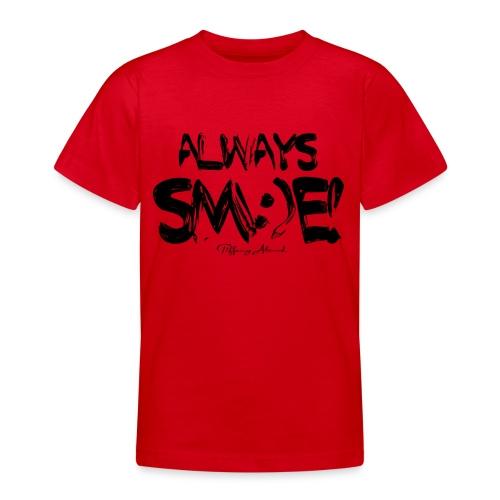 Always Sm e Fingerpaint - Teenage T-Shirt