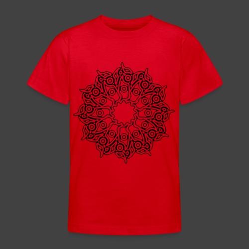 RF052 - BLACK - Teenage T-Shirt