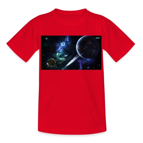 Universum /Saturn - Teenager T-Shirt