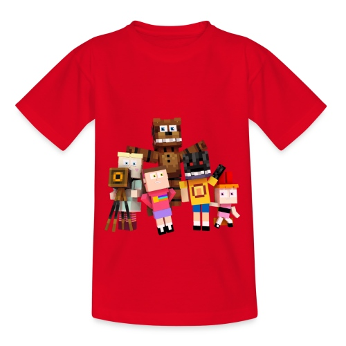 Withered Bonnie Productions - Meet The Gang - Teenage T-Shirt