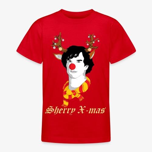 Sherlock Holmes reindeer editie - Teenager T-shirt