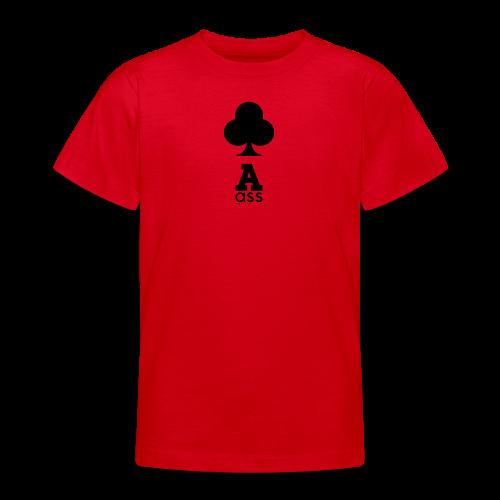 KREUZ ASS - Teenager T-Shirt