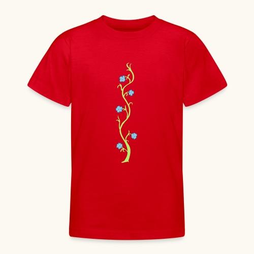 Blumenranke Farbe anpassbar Geschenk Muttertag - T-shirt Ado