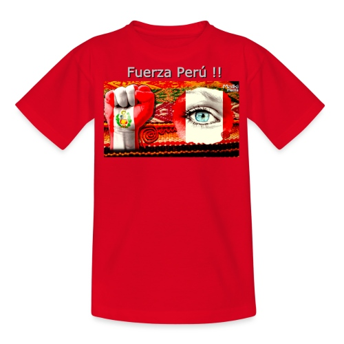 Telar Fuerza Peru I - Camiseta adolescente