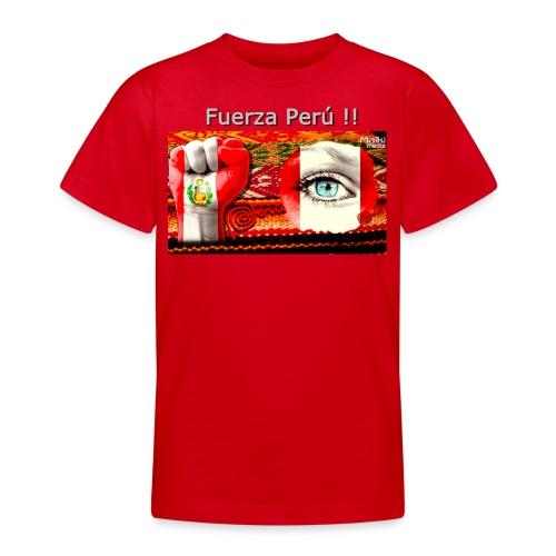 Telar Fuerza Peru I - Teenage T-Shirt