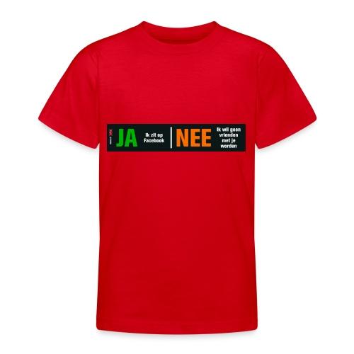 facebookvrienden - Teenager T-shirt