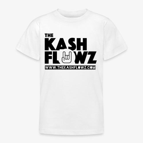 The Kash Flowz Official Web Site Black - T-shirt Ado
