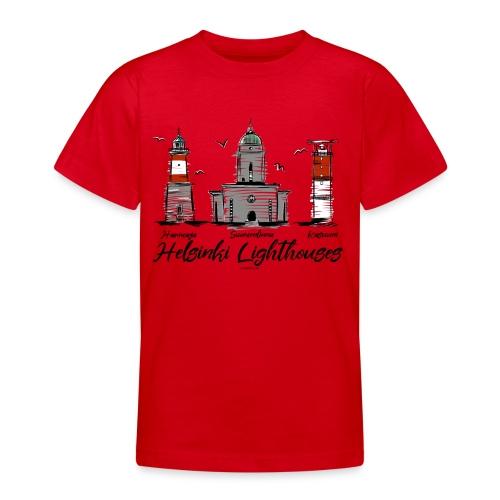 HELSINGIN MAJAKAT - MERELLISET MAJAKKATUOTTEET - Nuorten t-paita