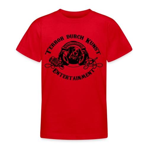 tdklogoschwarz 3 - Teenager T-Shirt