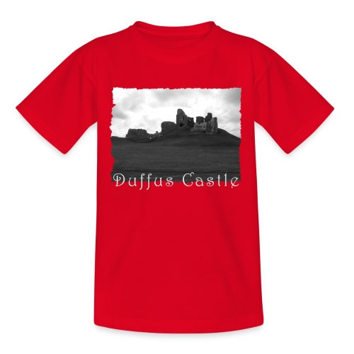Duffus Castle #1 - Teenager T-Shirt