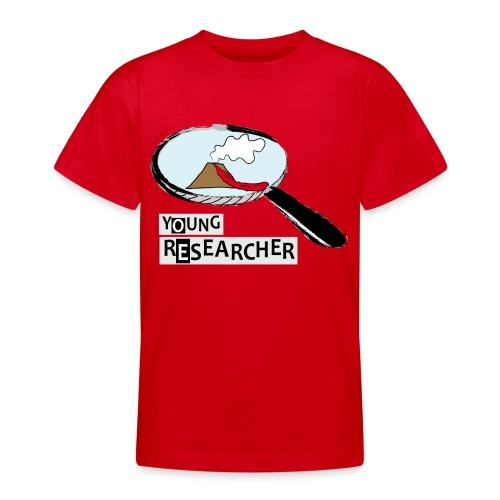 Young Researcher Volcano Wissenschaft - Teenager T-Shirt