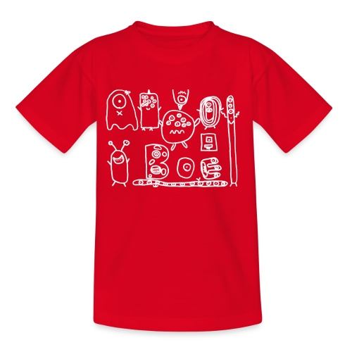 monsters-wit - Teenager T-shirt