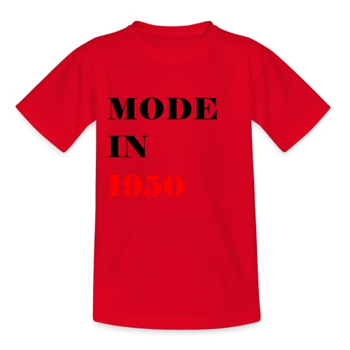MODE IN 150 - Teenage T-Shirt