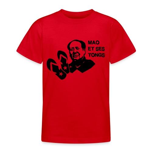 MAO et ses tongs - T-shirt Ado