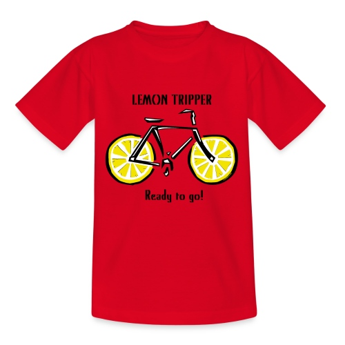 LEMON TRIPPER BICYCLE Textiles and Gifts Products - Nuorten t-paita