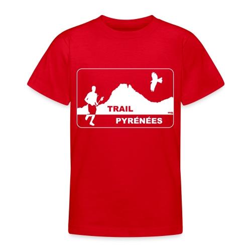 Trail Pyrénées V4 - T-shirt Ado