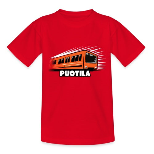 HELSINKI PUOTILA METRO T-Shirts, Hoodies, Gifts - Nuorten t-paita