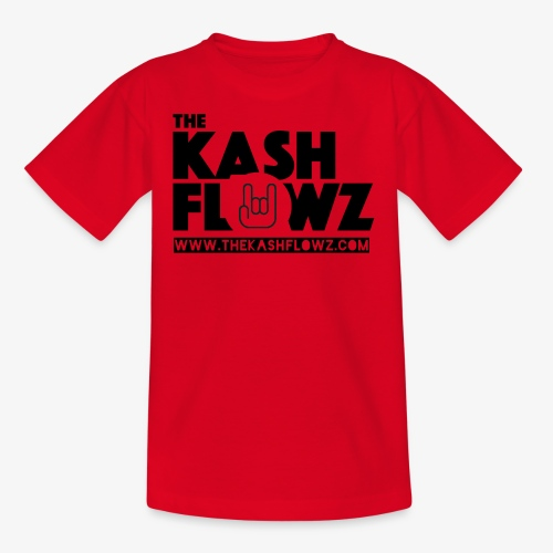 The Kash Flowz Official Web Site Black - T-shirt Ado