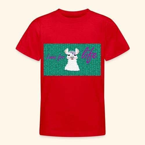lama / alpaca - Teenager T-Shirt