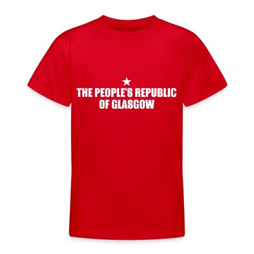 People's Republic Glasgow - Teenage T-Shirt