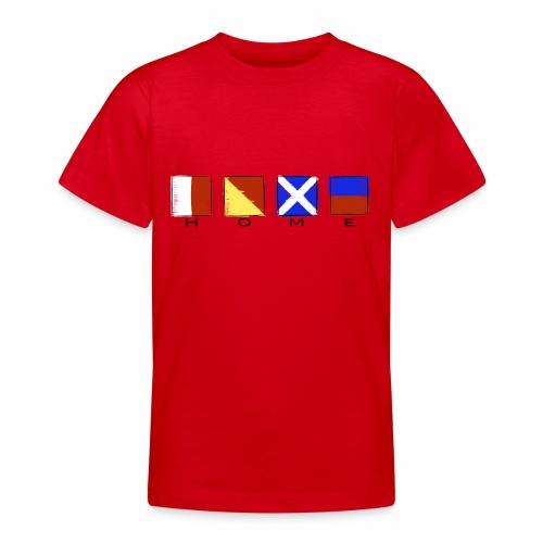Home, International Code Sea Flag, Sea clothes etc - Nuorten t-paita