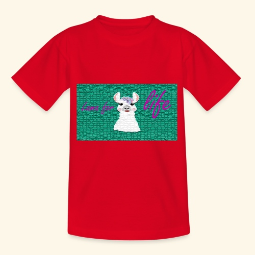 lama / alpaca - Teenager T-Shirt