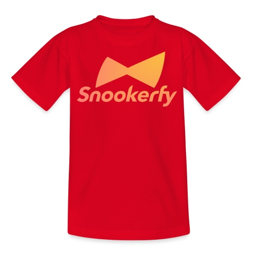 Snookerfy - Teenage T-Shirt