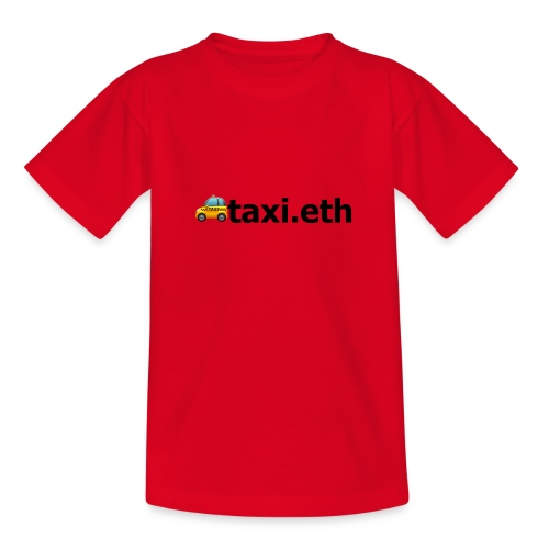 🚕taxi.eth - Teenager T-Shirt